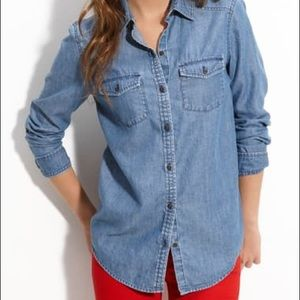 Rubbish Chambray Button Down